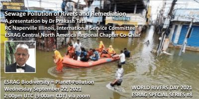 Sewage Pollution of Rivers and Remediation